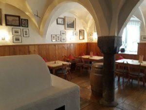 Zu Gast unterm Gewölbe in der Weinstube Hensler Kempten